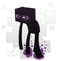 Enderman by wibblethefish