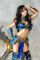 Sivir (League of Legends) Cosplay by Miyuki by Miyuki-Cosplay