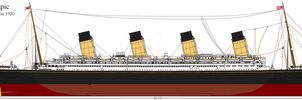 RMS Olympic Post War 1920 by Lex-the-Pikachu