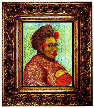 Portrait Of A Jamaican Woman by GershZ