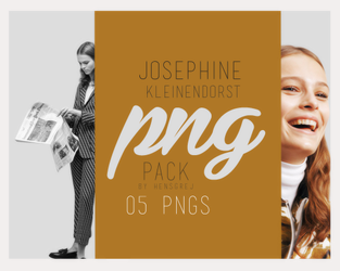 PNG Pack 07 - Josephine Kleinendorst by ohnoesflorence