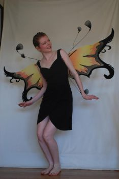 Fairy Black Dress 5 by chamberstock