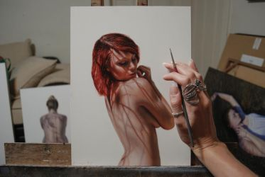 Red study by bronart