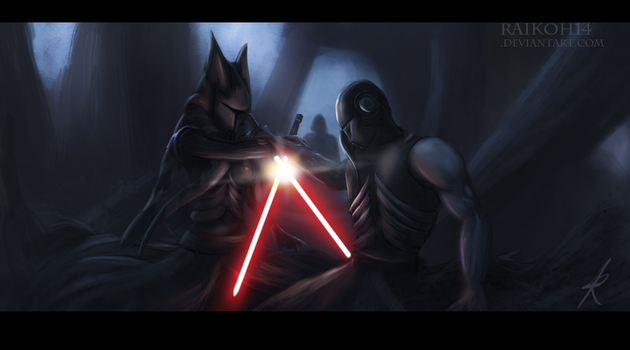 Duel of the aprrentices by Montano-Fausto