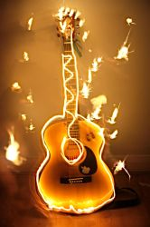 Acoustic Guitar by dylanridley