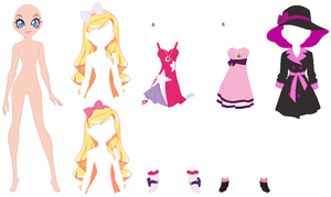 Lolirock Iris Base 04 by SelenaEde