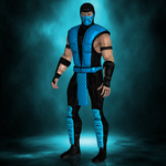 MKX Retexture: MK2 Sub-Zero by TheG-Flash
