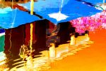 NAND2Art 1013 chaud Reflets abstraits Sorgue by pixeliums