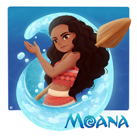 Moana by Chanai-Ai