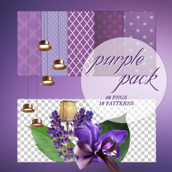 Purple Pack By Blutmondlicht by Blutmondlicht
