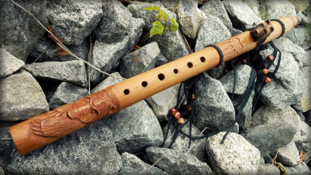 Native American Flute 20(3) by whiteright