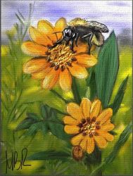 Bee by michbehar