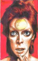 David Bowie by JustAnAmericanChick