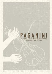 Paganini Poster by Jykle-and-Hyde