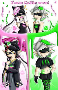 Team Callie won! by Poussi-Chan57
