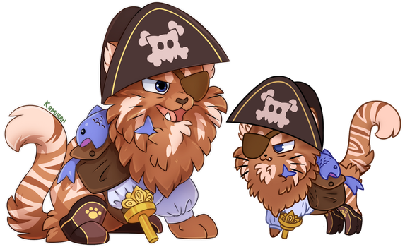Castle Cats :: Wetbeard by Kamirah