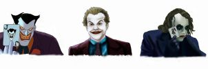 The many faces of THE JOKER by BLOOD-and-LUST-87