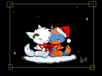 I'll be Home for Christmas by Ash-Dragon-wolf