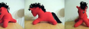 Pony Plush - Red by NocturnalEquine