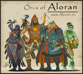 Orks of Aloran 2 by Iphis