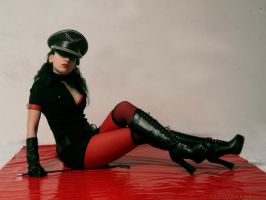 Comradely pin up II by TheOuroboros
