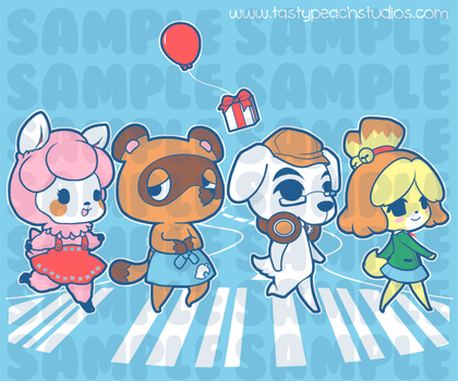 PP: ACNL - Abbey Road by MoogleGurl
