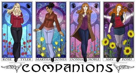 Doctor Who - Companions by strawberrygina