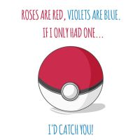 If I Only Had One.... Pokemon Romantic Card by DonCorgi