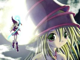 Dark Magician Girl by TheLoner2000