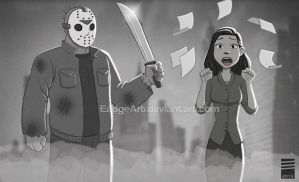 Paper FRIDAY THE 13TH by EadgeArt