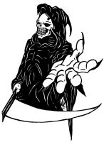 Grim Reaper disign 2 by BD3illustrations
