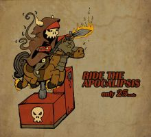 Ride the Apocalipsis by zfura