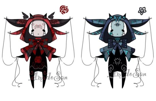 Doll monsters adoptable CLOSED by AS-Adoptables