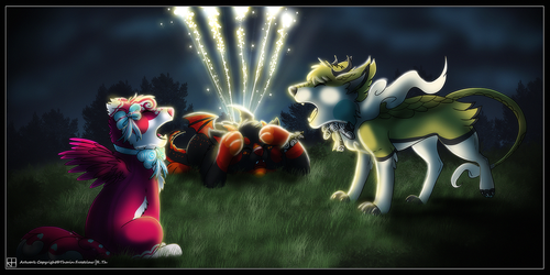 [TEAM DRAGON] Enjoy the Firew-WHOOPS! by ThorinFrostclaw