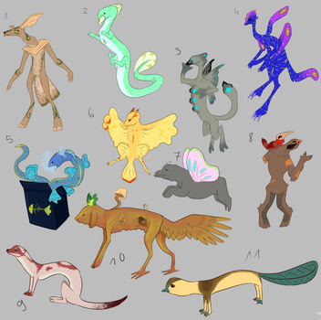 Random adopts |10/11 by MalwinaTruskawka