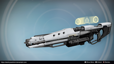 Angel: Exotic Sniper Rifle Concept by DestinyWarlock