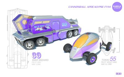 ReferenceModel-AltCars-PURPLE by DMStrecker