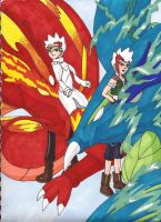 Dragon Brothers - Ryuga and Ryuto by Marluxialover11