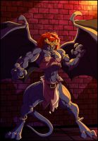demona coloured by Gettar82