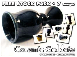 FREE STOCK, Ceramic Goblets by mmp-stock