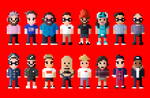 YouTube Characters but it's the 2017 version by LustriousCharming