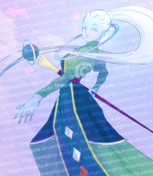 Dragonball Super - Female Whis by longlovevegeta
