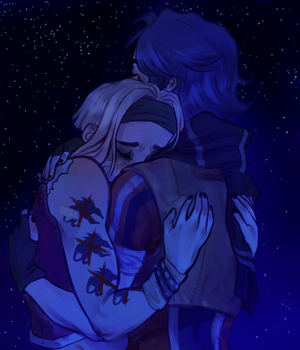 Space Girlfriends by 140-96