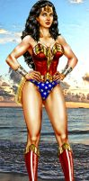 Wonder Woman - Diana of THEMYSCIRA by godstaff