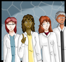 FWP: The scientists by RedStars7