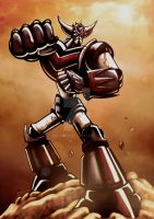 Grendizer by Noumier