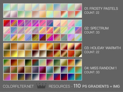 Gradients - Mixed Batch by colorfilter