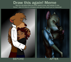 Before and After Meme: by ALS123