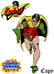 Super Powers - Robin by ElCapy