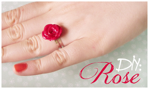 DIY: Rose Ring and Earrings by Leviana